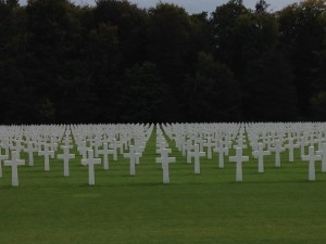 American Cemetery and WWII Memorial in Luxembourg