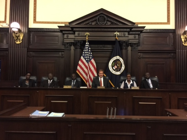 In the en banc courtroom